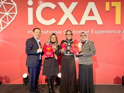 TelkomGroup Menangkan 3 Kategori International Customer Experience Awards