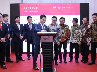 Telkom dan KB Financial Group Sepakat Luncurkan Centauri Fund