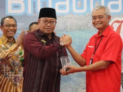 Telkom Resmikan Lombok Modern Broadband Island