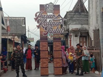 Pasar Kuliner Jadul Meriahkan Hari Jadi Ke-471 Masjid Menara Kudus