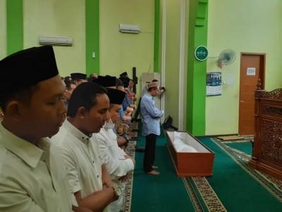 Sebelum di PBNU, Jenazah Kasatkornas Banser Dishalatkan di Masjid GP Ansor
