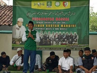 Infak Ruqyah Massal NU Krejengan Probolinggo untuk Ruqyah di Istiqlal Jakarta