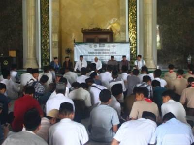 Doa Bersama Lengkapi Persiapan Siswa Pacitan Jelang UN
