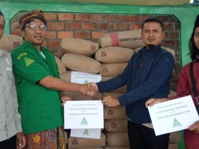 GP Ansor Kabupaten Sukabumi Serahkan Bantuan untuk Korban Gempa Kalapanunggal