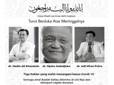 Satgas NU Peduli Covid-19 Ikut Berduka atas Wafatnya 3 Dokter