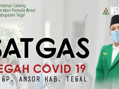 Bantu Pemerintah, Ansor Tegal Bentuk Satgas Pencegahan Covid-19