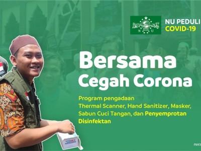 Hadapi Wabah Corona, Solidaritas Masyarakat Harus Ditingkatkan