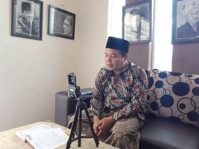 Mahasiswa IAIN Jember Doakan Ibunda Jokowi lewat Daring