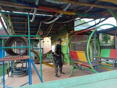 Cegah Corona, NU Peduli Covid-19 di Jambi Ajak Warga Bersihkan Lingkungan