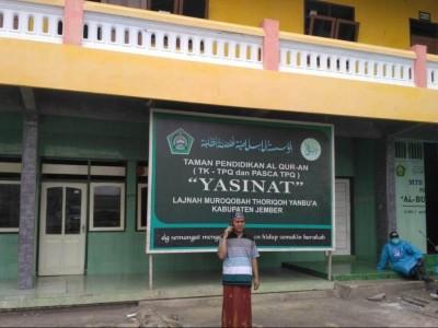 Halau Corona, Santri Yasinat Jember Dilarang Ketemu 'Orang Luar'