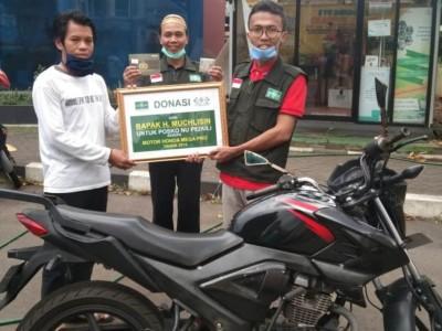 Warga NU Tangsel Donasikan Motor Kesayangan untuk Bantu Cegah Corona