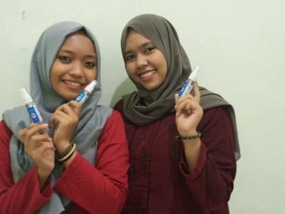 Jaga Keaslian, Kader PMII Jombang Produksi Hand Sanitizer secara Mandiri