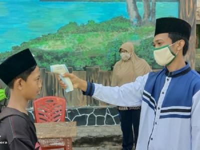 Peduli Santri, LAZISNU Lampung Bakti Sosial di Pesantren Al Hamid Cinta Mulya