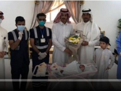 Seorang Bayi di Saudi Sembuh dari Virus Corona