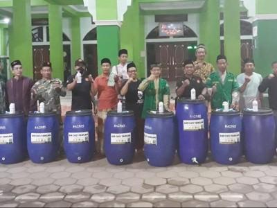 Cegah Wabah Corona, Ansor Kendal Distribusikan Tong Air untuk 100 Masjid