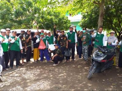 Bantu Buruh Terdampak Covid-19, Dua MWCNU di Jember Gelar Aksi Sosial