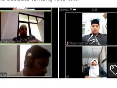 Pengalaman IAIA Samalanga AcehGelar Sidang Skripsi Online Pertama