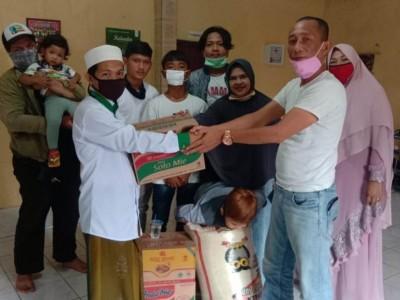 NU Sukaraja Bogor Salurkan Sembako ke Ratusan Warga