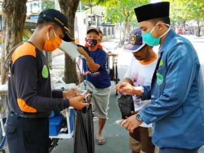Di Tulungagung, Pekerja Jalanan sebagai Ujung Tombak Cegah Covid-19