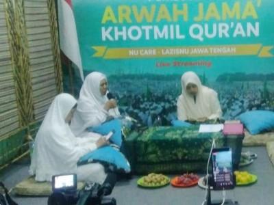 LAZISNU Jateng Siasati Khatmil Qur'an dan Arwah Jamak Lewat Medsos