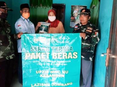 Kisah Pilu di Balik Penyaluran Paket Beras LAZISNU Jombang