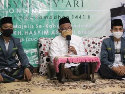 Bermunajat dengan Istighotsah KH M Hasyim Asy'ari