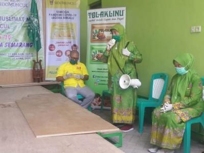 Kader Muslimat NU Semarang Diminta Bantu Redam Hoaks Seputar Corona
