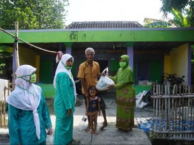 Lawan Corona, Nahdliyin Lamongan di Perantauan Bantu Warga Kampung Halaman