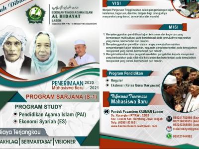 Resmi Dibuka, STAI Al-Hidayat Lasem Rembang Siap Terima Mahasiswa