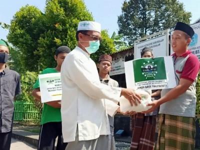 Perhatian Jatman Kota Yogyakarta kepada Masyarakat Terdampak Covid-19