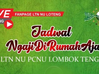 NU Lombok Tengah Ajak Ngaji di Rumah Aja Selama Ramadhan