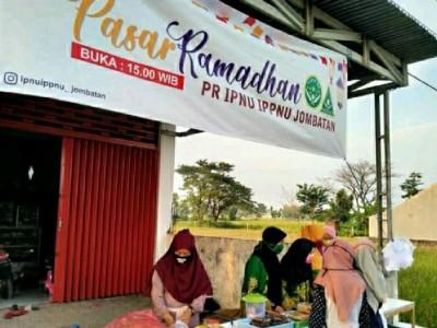 Pasar Ramadhan, Cara Pelajar NU di Jombang Tambah Kas Organisasi