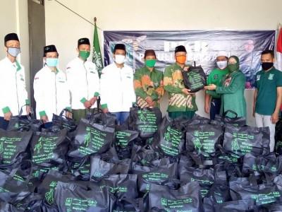 Di Tengah Pandemi Covid-19, NU Demak Salurkan 1.700 Paket Bingkisan Ramadhan