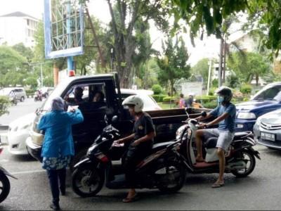 PMII Kota Banda Aceh Ajak Patuhi Imbauan Pemerintah dengan Gunakan Masker