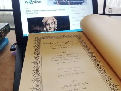 Menengok Isi Kitab Risalah Ahlissunnah wal Jamaah Karya KH Hasyim Asy'ari