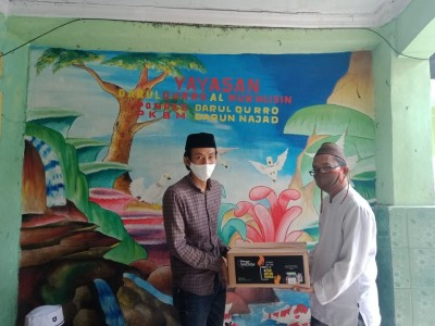 Sejumlah Pesantren di Tangerang Raya Terima Paket Sembako Sehat dari Gusdurian Peduli