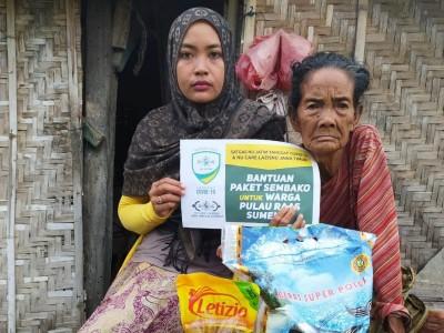 Sejuta Paket Sembako NU Jatim Jangkau Kawasan Kepulauan Sumenep