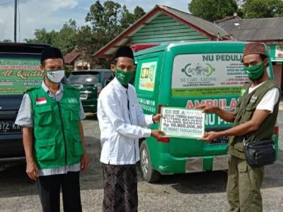 LAZISNU Pringsewu Bantu Korban Puting Beliung di Tulang Bawang