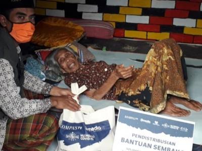 Doa Warga Lombok untuk Didi Kempot saat Terima Bantuan Hasil Konser Amal