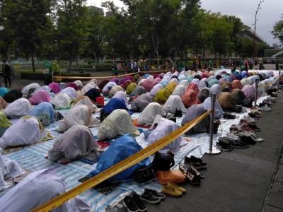Shalat Idul Fitri di Taiwan Secara Bergelombang