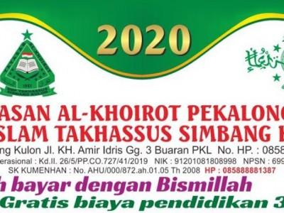 SMP Islam Takhassus Pekalongan Sediakan Beasiswa bagi Pelajar Terdampak Rob dan Corona