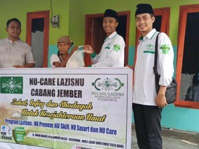 Lebaran Usai, NU Care-LAZISNU Jember Kembali Bagi-bagi Sembako