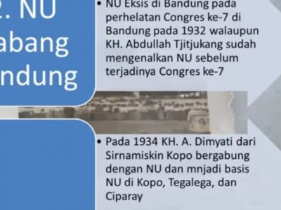 Tiga Jalur Masuknya NU ke Jawa Barat