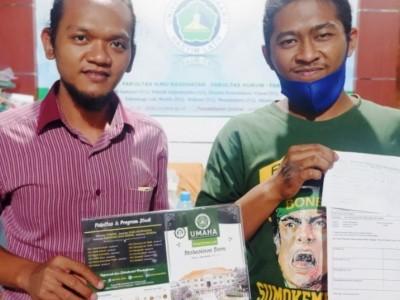 Selama Sepekan, UmahaSidoarjo Berikan Beasiswa kepada Bonek