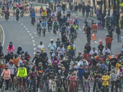Maraknya Pengayuh Sepeda di Era Pandemi Covid-19