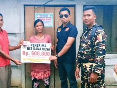 Banser Melawi Kalimantan Barat Turut Kawal Penyaluran Dana Desa