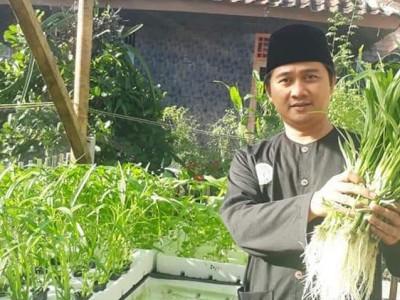 Perkuat Pertanian, NU Subang Kembangkan Tanaman Hidroponik