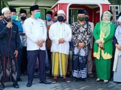 NU Kabupaten Mojokerto Dukung Pemberangkatan Massal Santri Lirboyo