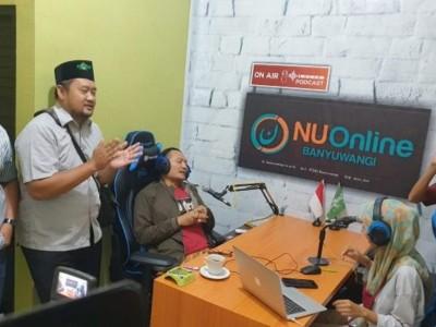NU Banyuwangi  Selangkah Maju, Buat Studio dengan Fasilitas Podcast