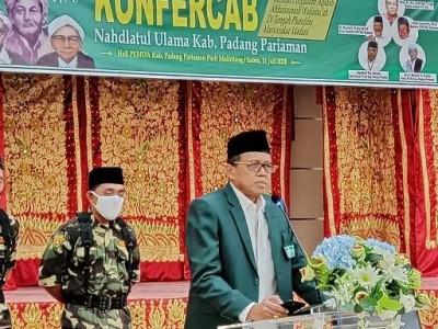 PCNU Padang Pariaman Miliki Rais dan Ketua Baru Periode 2020-2025